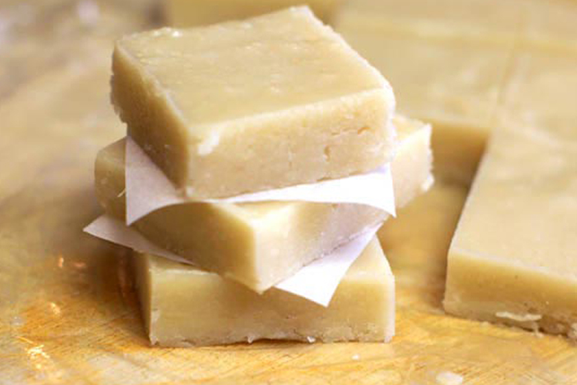 fudge - Raw Macadamia Nut Fudge Squares