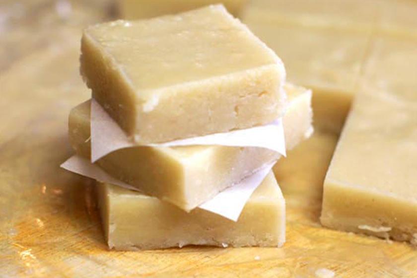fudge - Raw Macadamia Nut Fudge Squares