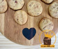 EN VIP RECIPE - Choc-Chip Buckwheat Cookies