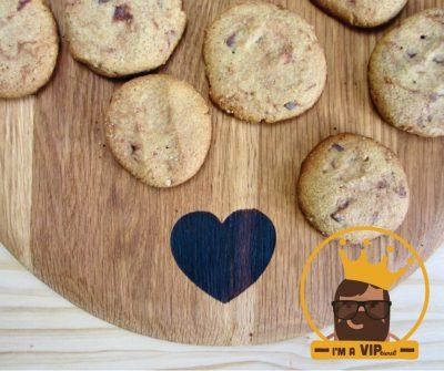 EN VIP RECIPE - Choc-Chip Buckwheat Cookies