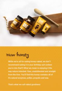 Product 1 raw honey mobile 205x300 -