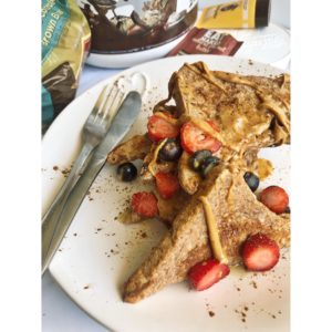 peanut butter and berries protein french toast 3 300x300 - peanut-butter-and-berries-protein-french-toast_Eat Naked