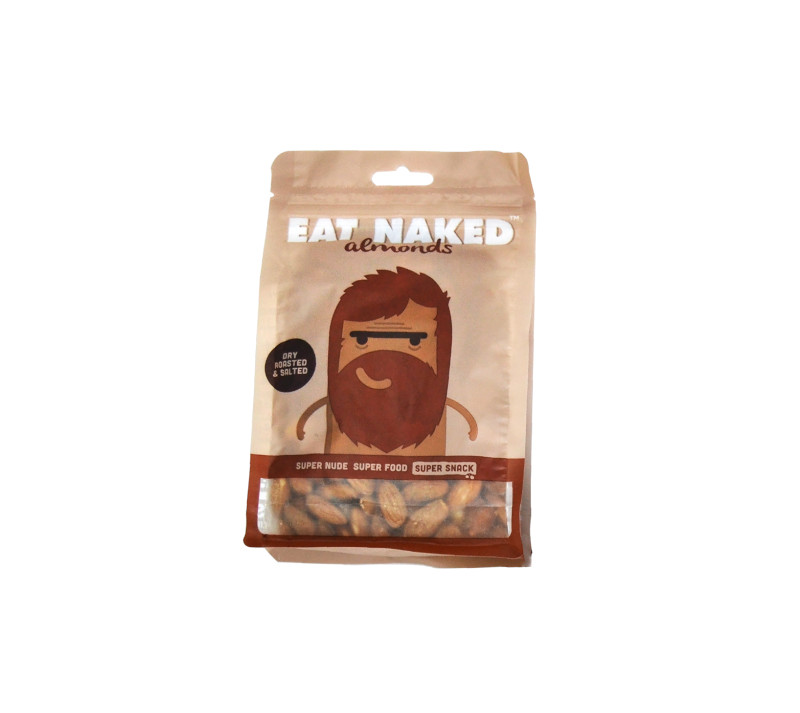 Dry Roasted And Salted Almonds - available sizes and nutritional information