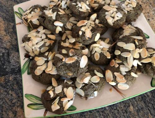 Nutty vegan cookies